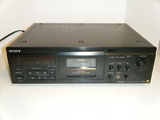 Sony Cassette Deck Tc-Ka3Es 3 Head Stereo Cassette Deck Tested Works