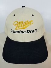 Vintage Miller Genuine Draft Snapback Hat MGD H1586