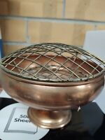 Antique Copper Dish Stand made in England