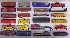 Mixed Lot of 36 + HO train BODIES & other Parts * AS-IS CONDITION ** Scenery ?