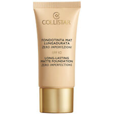 COLLISTAR MAKE-UP FONDOTINTA MAT LUNGADURATA 4 SABBIA OIL FREE SPF10 NOVITA' '17