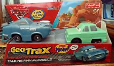 Fisher-Price GeoTrax Disney Cars 2 Petrov Trunkov and Talking Finn McMissile