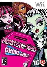 Monster High: Ghoul Spirit WII New Nintendo Wii, Nintendo Wii