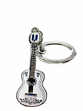 Coco Guitar Silvertone Cartoon/TV Charm Pendant Key Chain