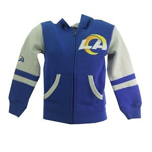 Los Angeles Rams Official NFL Baby Infant Toddler Size Full Zip Sweatshirt New