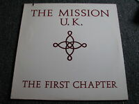 The Mission-The First Chapter LP-1986 USA-Dark Wave-Mercury-422 832 732 1-Album