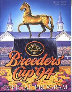 1994, 1998, 2000 & 2006 - Breeders Cup programs in MINT Condition
