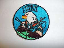 c0080 Gulf War - Current USAF Combat Camera Patch Large R10C
