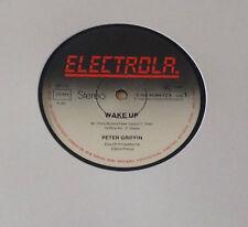 "PETER GRIFFIN (12""MAXI) ""WAKE UP / HURRICANE"" [GER/ 1980/ ELECTROLA/ ""DISCO""]"