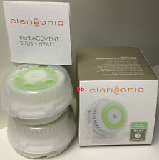 CLARISONIC Acne Cleansing Head & Cap Retail Twin Pack New in Box