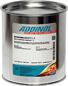 ADDINOL Mehrzweckfett L2 1 kg K2K-30 120°C Lagerfett Oldtimer Fett Staufferfett