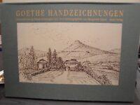 Goethe Handzeichnungen Die zweiundzwanzig Handzeichnungen von 1810  Oppel