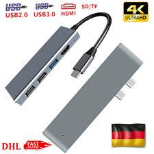 6/7 in1 USB-C 3.0 HUB Type C 4K HDMI Adapter Kartenleser Für MacBook Pro Air DHL