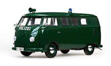 1:12 Sunstar VW T1 Bus - Polizei - grün