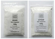 200 g nigari + gypse tofu coagulant Combo Deal, qualité alimentaire