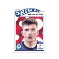 Mason Mount - Chelsea FC - 2021 UCL Topps Now Living Set Card #317 UEFA Champion