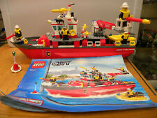 LEGO CITY 7207 FIRE BOAT COMPLETO 100%
