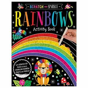 Scratch and Sparkle Rainbows by Amy Book The Cheap Fast Free Post New Book