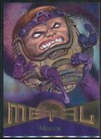 1995 Marvel Metal Trading Card #35 Modok