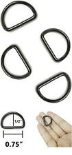 Tsj 20 Ct Heavy Duty Metal D-Rings 3/4 Inch Non Welded D Rings for Sewing, Belts