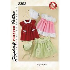 Infant Unisex Dress Sewing Patterns