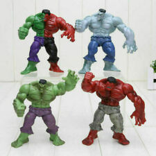 4Pcs/Set Avengers 2 Hulk 4 Different Compound Red Grey Green Pvc Action Figure