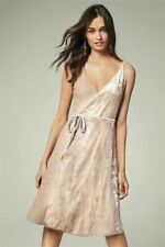 NEXT Sequin Wrap Dresses