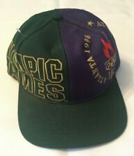 VTG THE GAME 1996 ATLANTA OLYMPIC GAMES HAT RARE BIG LOGO SPELLOUT ONE SIZE CAP