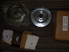 Power Stop K5610 Front and Rear Z23 Evolution Kit with Drilled//Slotted Rotors and Ceramic Brake Pads