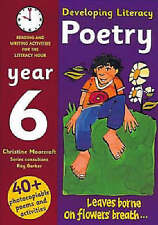 Developing Literacy: Poetry: Year 6: Reading and Writing Activities for the Lite