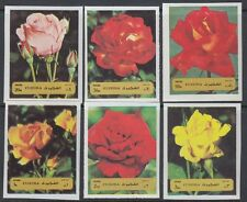 Fujeira 1972 ** Mi.1251/56 B Blumen Flowers Rosen Roses