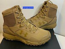 Men's Under Armour Valsetz RTS 1.5 Tactical Boots Brown  #3021034-200  Size 10
