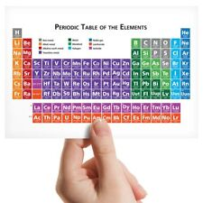 A2Periodic Table Elements Chemistry Size A2 Poster Print Photo Art Gift #2364