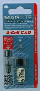 Ersatzbirne  MagLite 4-Cell C D  Birne Glühlampe XENON