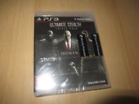 Ultimate Stealth: Triple Pack (PS3) new sealed pal