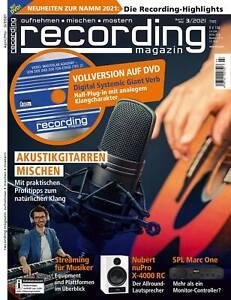 Akustikgitarren mischen und Digital Systemic Giant Verb Vollversion im recording