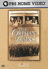 American Experience - The Orphan Trains New DVD! Ships Fast!