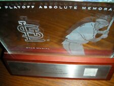 2003 Playoff Absolute Memorabilia Etched Glass, Stan Musial, St L Cardinals