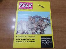 VOLO n.8 del 1963 Mensile di vita aeronautica Aero Club Italia