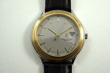 AUDEMARS PIGUET 14593SA HUITIEME STEEL 18k GOLD 41mm AUTOMATIC SWEEP DATES 1990s