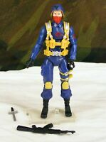 GI JOE 25th scarred Cobra Officer v6 The Enemy 2008 army builder comic pack