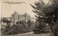 CPA 72 SOLESMES  abbaye des bénédictins vue du chateau de la grange
