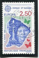 TIMBRE FRANCE OBLITERE N° 2696 ESPACE ET GUYANE /