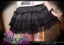 Lolita JAPAN fantasy Pastry Maid polka dot tiered ruffle puffy skirt FA176 B