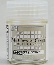 MR HOBBY Crystal Color Gunze LACQUER XC05 Sapphire Blue MODEL PAINT 18ml US