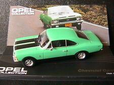 OPEL CHEVROLET CHEVY OPALA 1968 1969 GREEN BLACK IXO 1/43 VERTE BANDES NOIRES