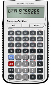 Calculated Industries ConversionCalc Plus 8030 Metric Conversion Calculator