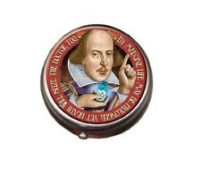 WILLIAM SHAKESPEARE Quote PILL BOX PILLBOX