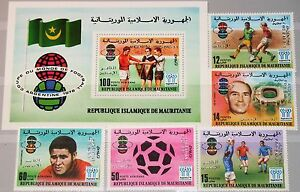 MAURITANIA MAURETANIEN 1978 615-19 Block 22 Soccer World Cup Win Fußball ovp MNH