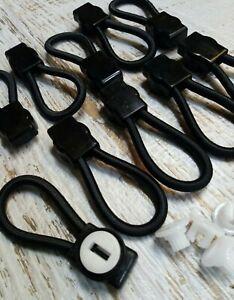Ford Bungee Loops - 70mm - 10 Pack - Genuine OEM Bunji Tonneau Ute Repair Loop